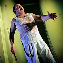 Bengt Krantz som Macbeth