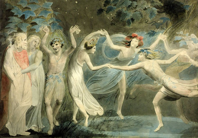 Titania dansar