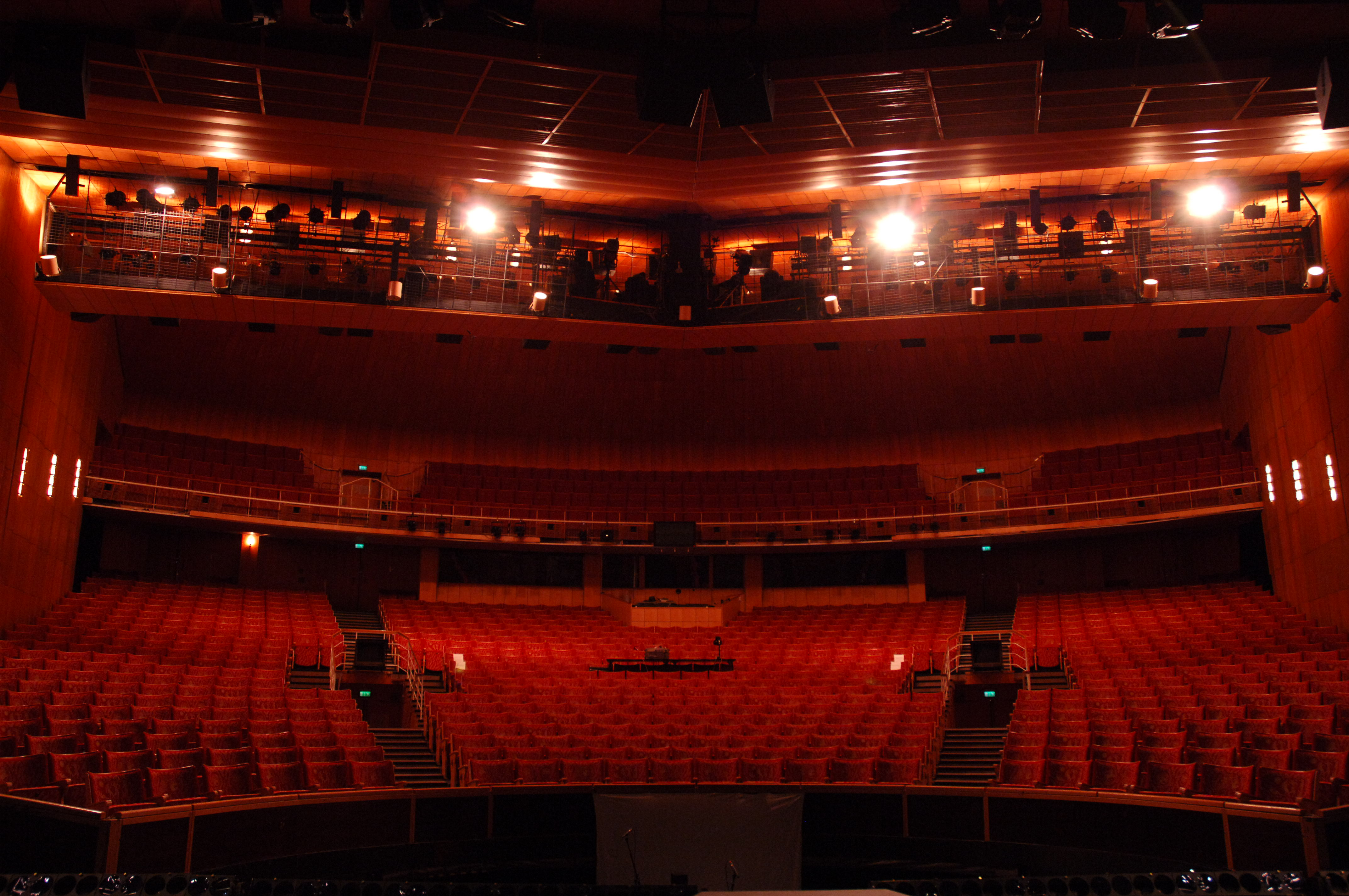 The auditorium as seen from the stage