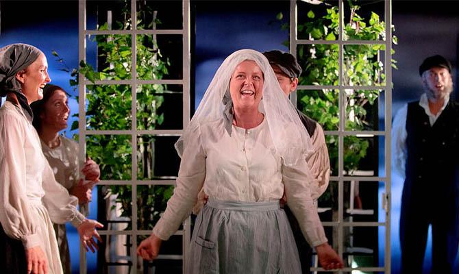 bröllopsscen i Det går an