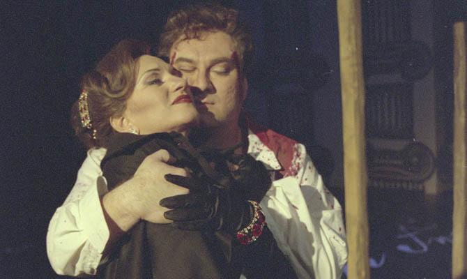 Irene Theorin gör Tosca