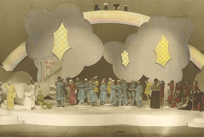 Orfeus i underjorden på Malmö Opera 1946