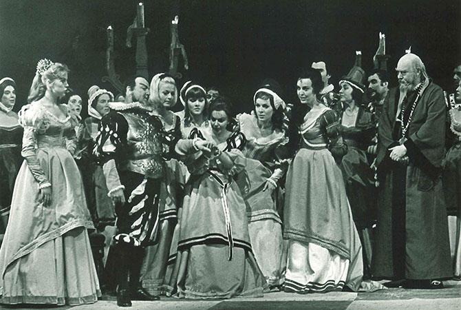 Riddar Blåskägg på Malmö Opera 1969