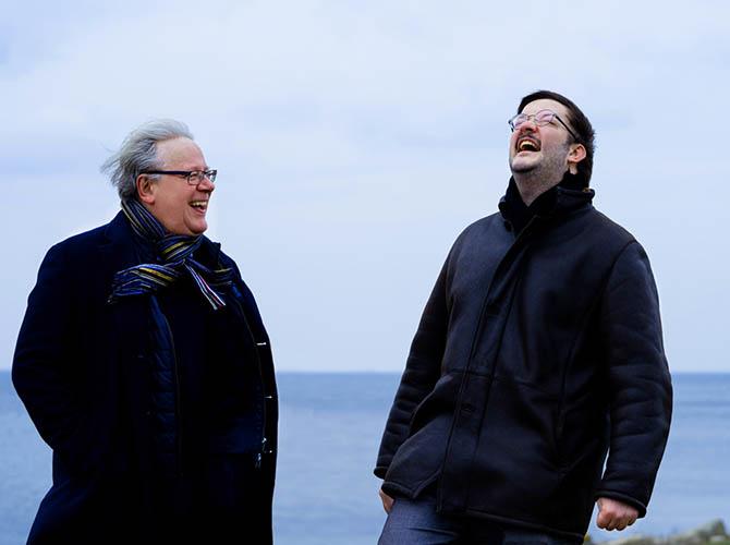 Benjamin Stearn och Rolf Martinsson