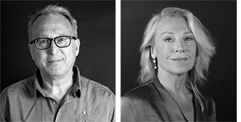 Philip Zandén och Katarina Ewerlöf