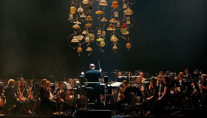 Malmö Operaorkester på stora scenen