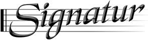 Signatur Logga
