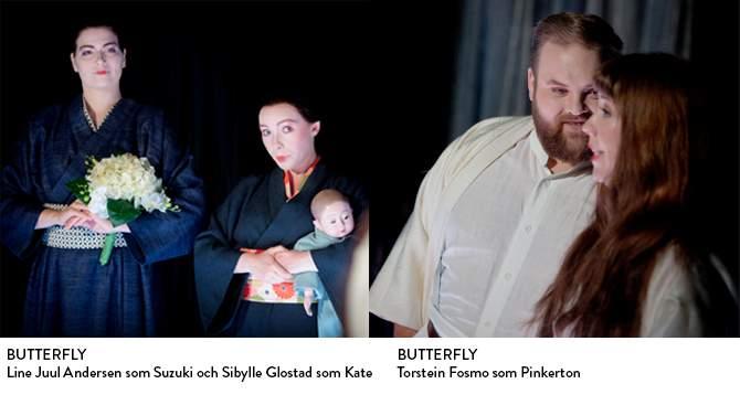 Studenterna Line och Torstein i Butterfly