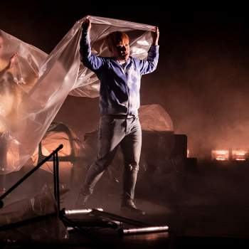 Scen från Falstaff  Malmö Opera