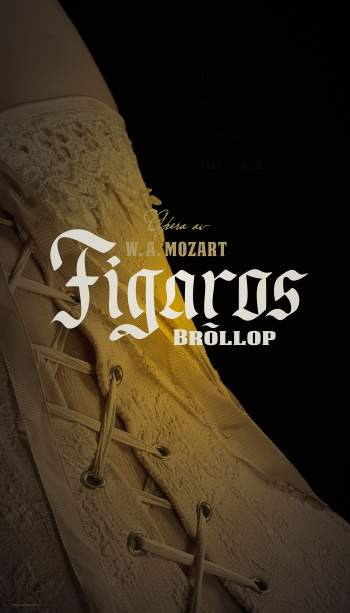 Figaros bröllop, affischbild