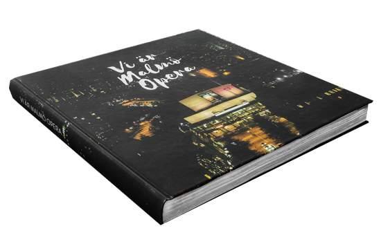 Bild på bok om Malmö Opera