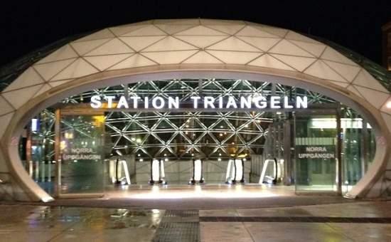 Visit Malmö Opera Triangeln train station