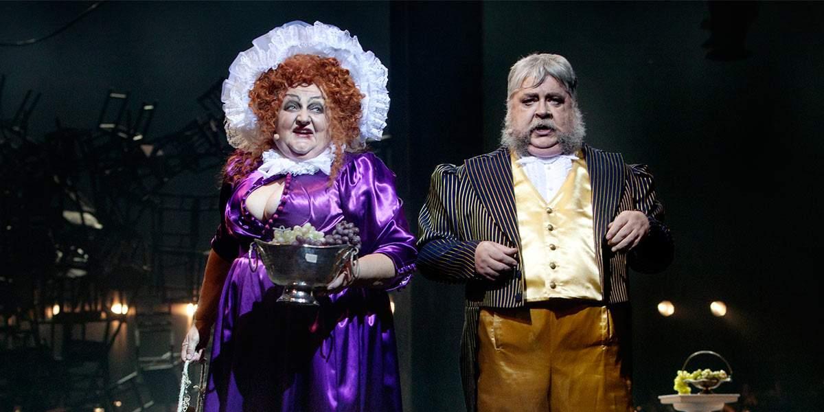 Marianne Mörck och Peter Harrysson i Les Miserables