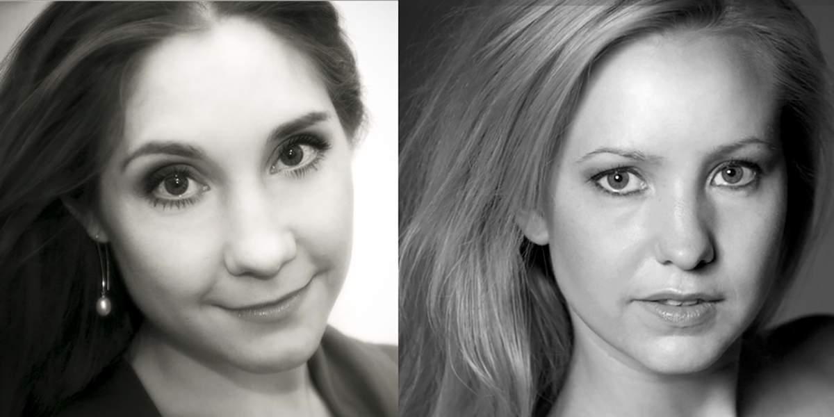 Alexandra Büchel och Hanna Husáhr