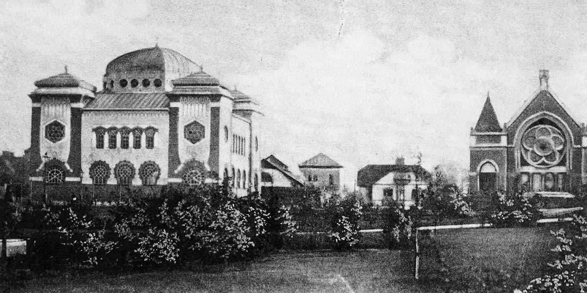 Synagogan under 1900-talets början
